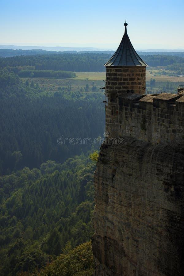 φρούριο Κ nigstein στοκ φωτογραφίες