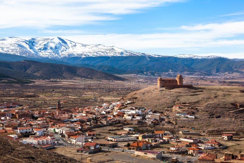 Φρούριο Λα Calahorra στοκ φωτογραφία με δικαίωμα ελεύθερης χρήσης