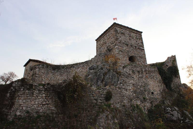 Φρούριο με τον πύργο στοκ εικόνες