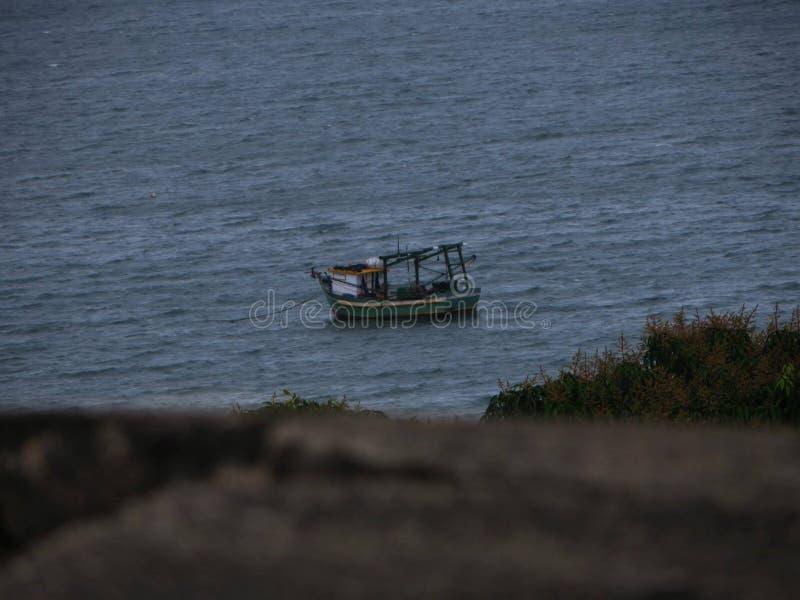 Φρούριο, παραλία Forte, Sc Βραζιλία στοκ εικόνες