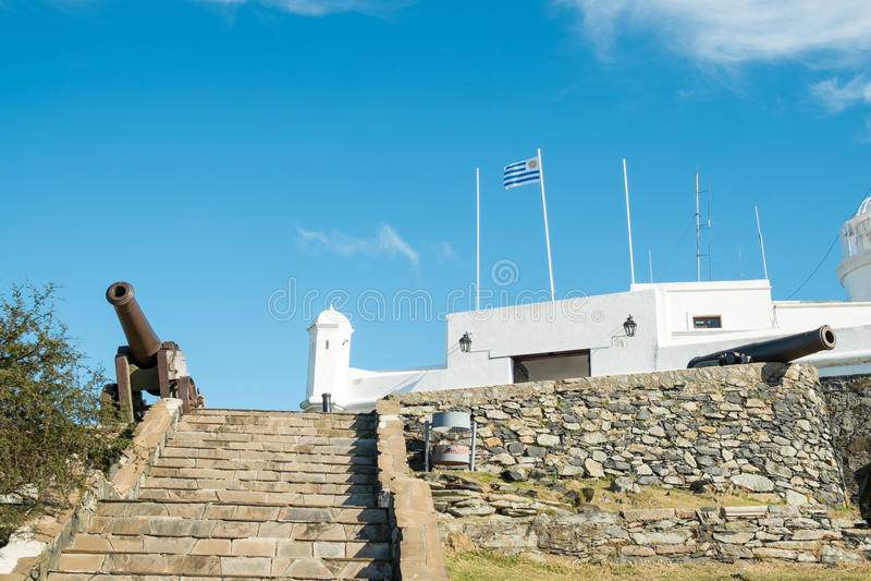 Φρούριο του Μοντεβίδεο στοκ εικόνες