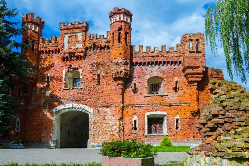 Φρούριο του Brest, πύλη Kholm Brest, Λευκορωσία στοκ εικόνα