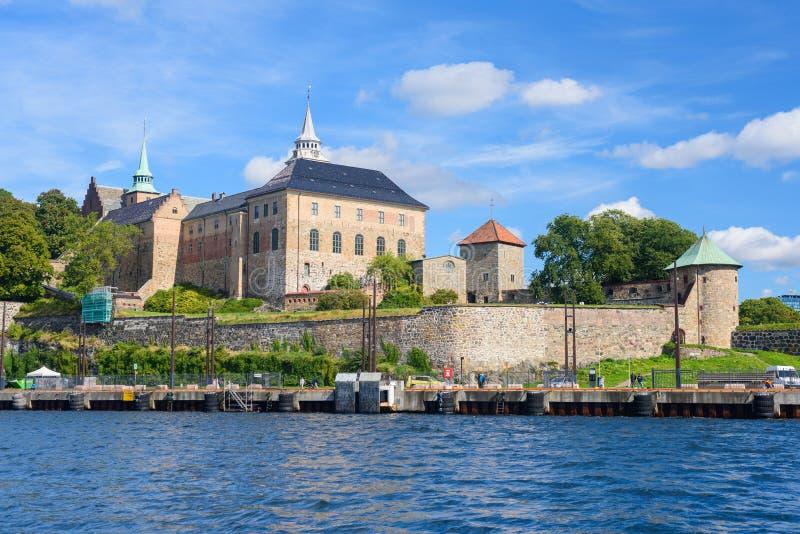 φρούριο Όσλο akershus στοκ εικόνα με δικαίωμα ελεύθερης χρήσης