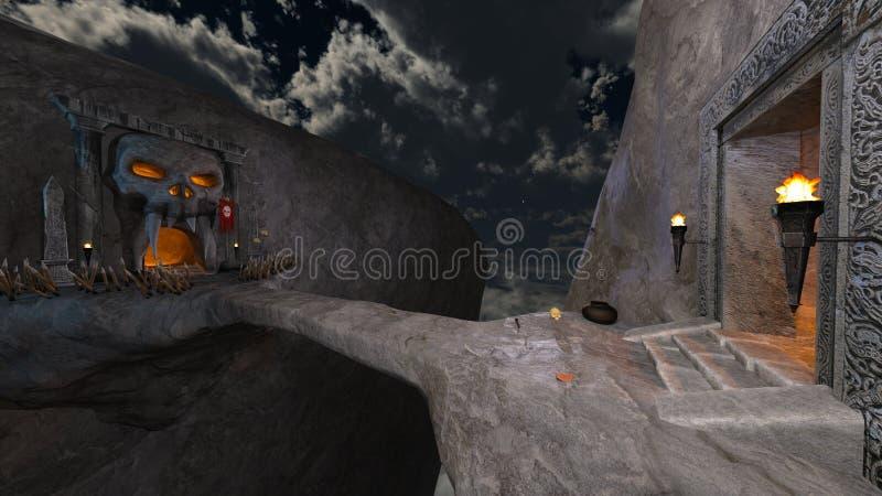 φρούριο διανυσματική απεικόνιση