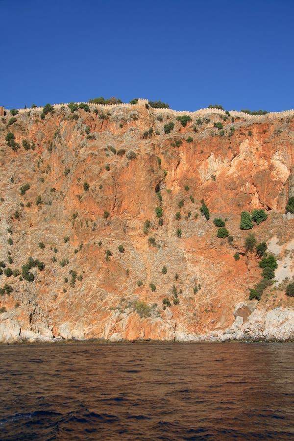 Φρούριο Alanya, Τουρκία στοκ φωτογραφία με δικαίωμα ελεύθερης χρήσης