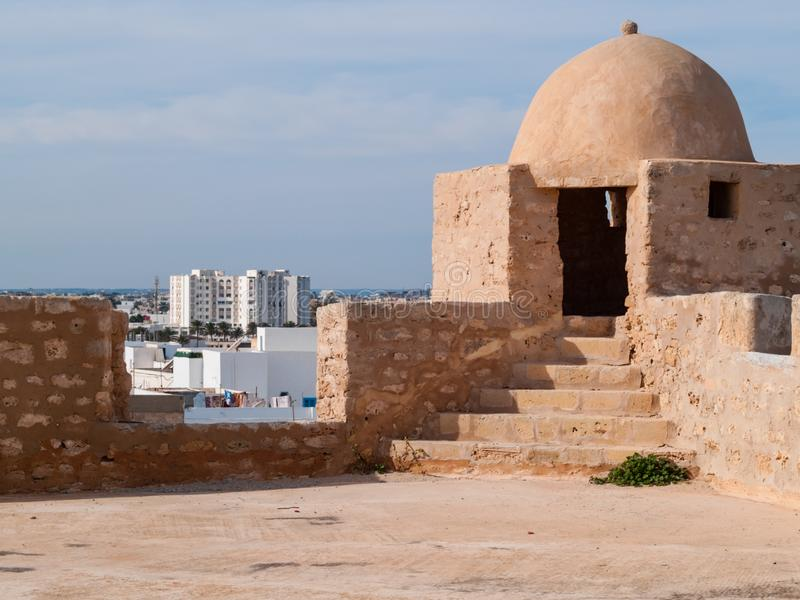 Φρούριο Borj EL-Kebir Οθωμανός, Mahdia, Τυνησία στοκ εικόνα με δικαίωμα ελεύθερης χρήσης