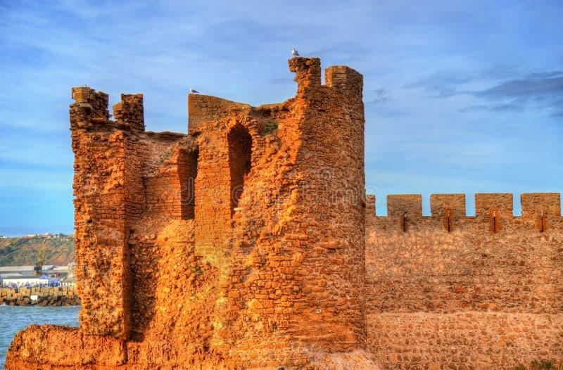 Φρούριο dar-EL-Bahar στην ατλαντική ακτή Safi, Μαρόκο στοκ φωτογραφία με δικαίωμα ελεύθερης χρήσης