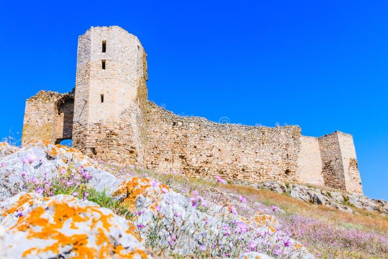 Φρούριο Enisala, Dobrogea, Ρουμανία στοκ φωτογραφίες