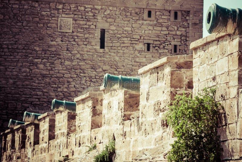 Φρούριο Essaouira, Μαρόκο, Αφρική στοκ εικόνες