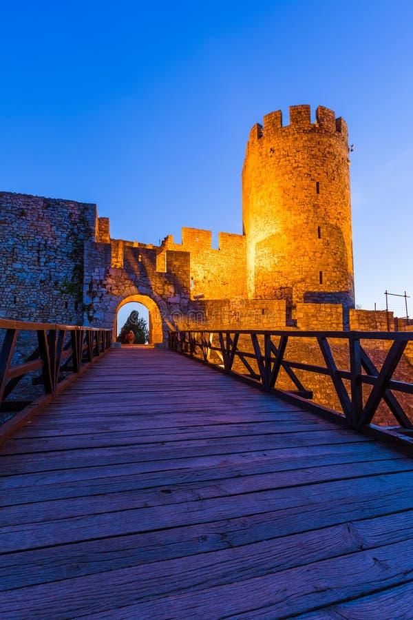 Φρούριο Kalemegdan Beograd - Σερβία στοκ εικόνα με δικαίωμα ελεύθερης χρήσης
