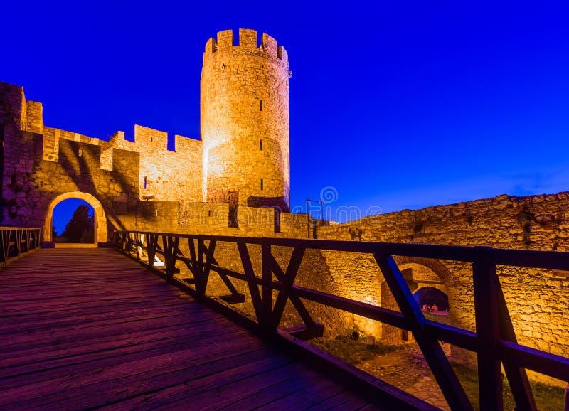 Φρούριο Kalemegdan Beograd - Σερβία στοκ φωτογραφίες
