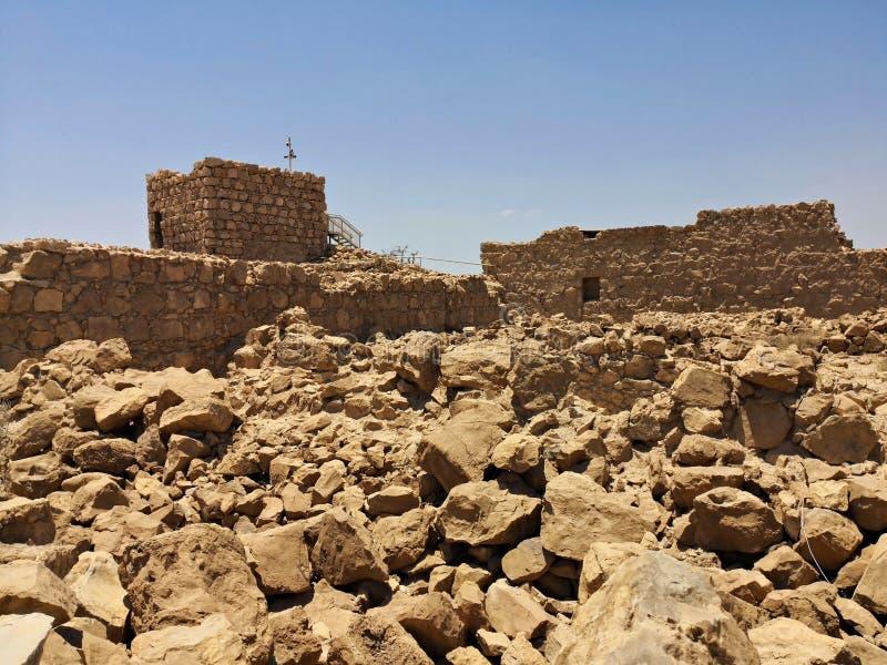 Φρούριο Masada στοκ εικόνα