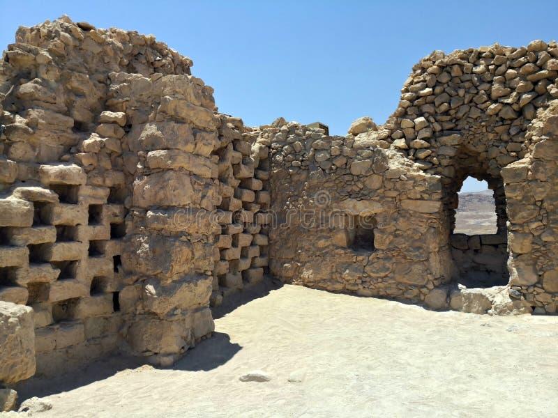 Φρούριο Masada στοκ φωτογραφίες με δικαίωμα ελεύθερης χρήσης