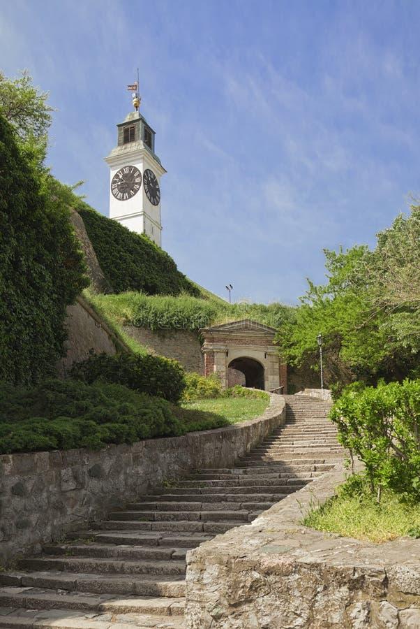 Φρούριο Petrovatdin στο Νόβι Σαντ, Σερβία στοκ φωτογραφία με δικαίωμα ελεύθερης χρήσης