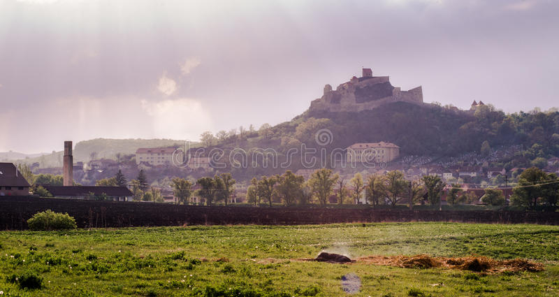 Φρούριο Rupea στοκ εικόνα