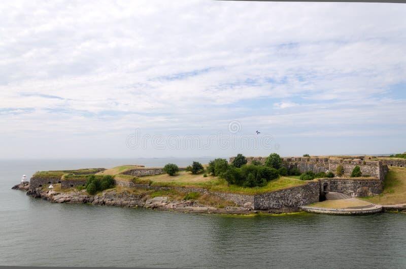 Φρούριο Suomenlinna στοκ εικόνες