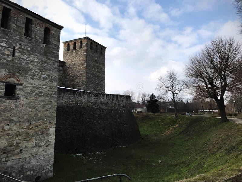 Φρούριο Vida μπαμπάδων, Vidin, Βουλγαρία στοκ εικόνα