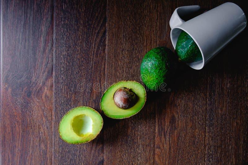 Φρούτα αβοκάντο στοκ εικόνες