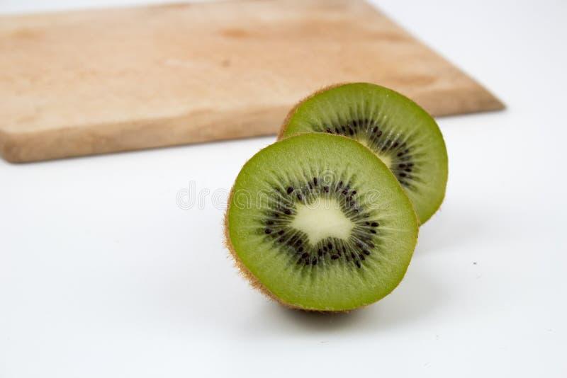 Φρούτα ακτινίδιων στο υπόβαθρο στοκ εικόνα