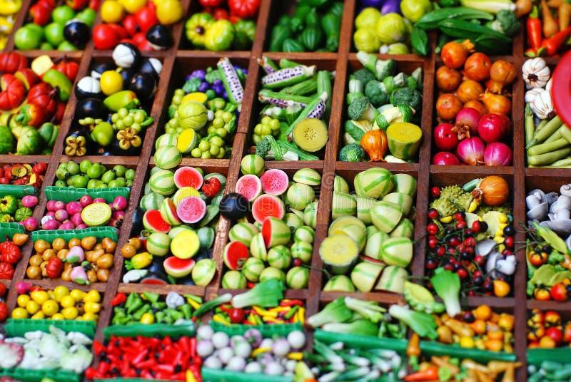 Φρούτα & λαχανικό στοκ εικόνα
