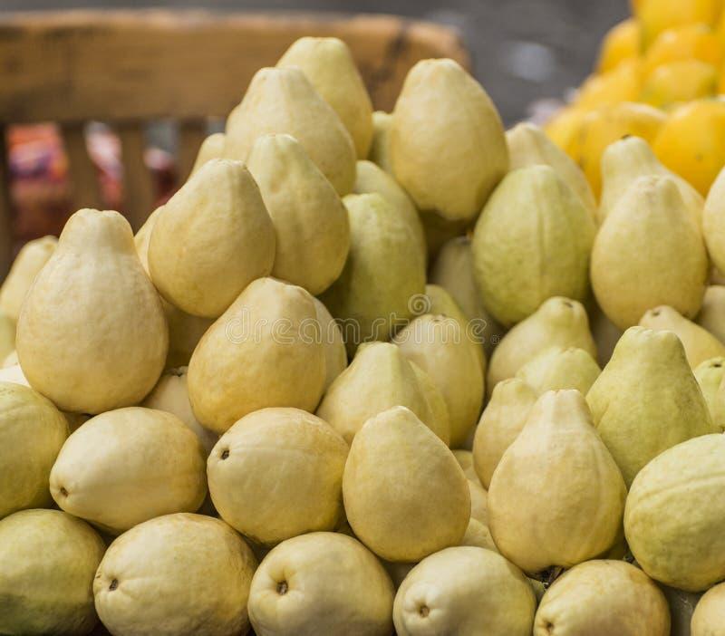 Φρούτα γκοϋαβών στοκ εικόνα με δικαίωμα ελεύθερης χρήσης