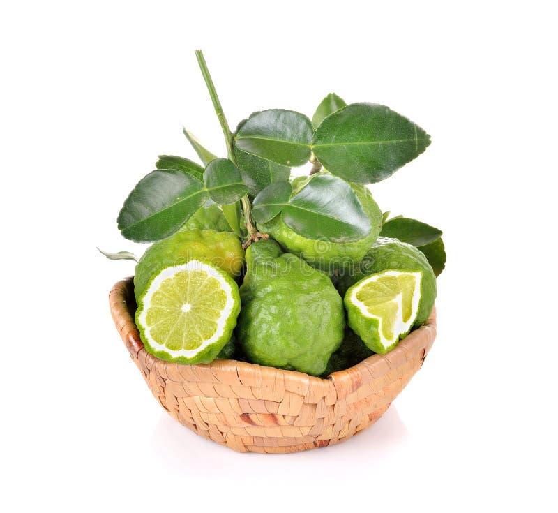 Φρούτα κίτρων στο άσπρο υπόβαθρο στοκ φωτογραφίες με δικαίωμα ελεύθερης χρήσης