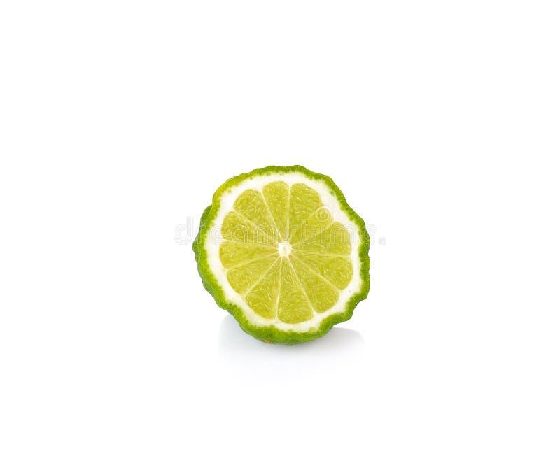 Φρούτα κίτρων στο άσπρο υπόβαθρο στοκ εικόνα