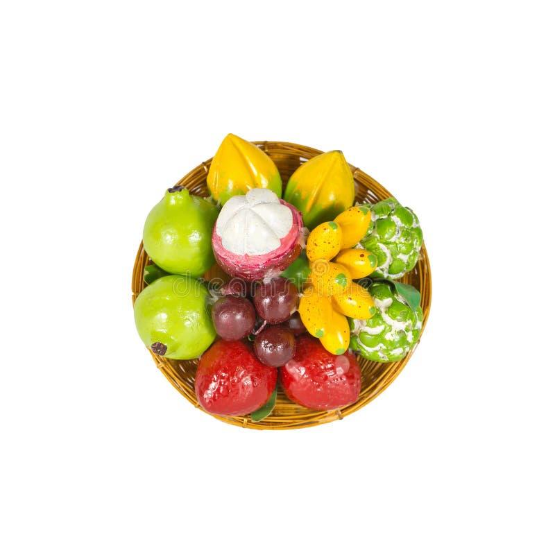 Φρούτα μιγμάτων παιχνιδιών στοκ εικόνες