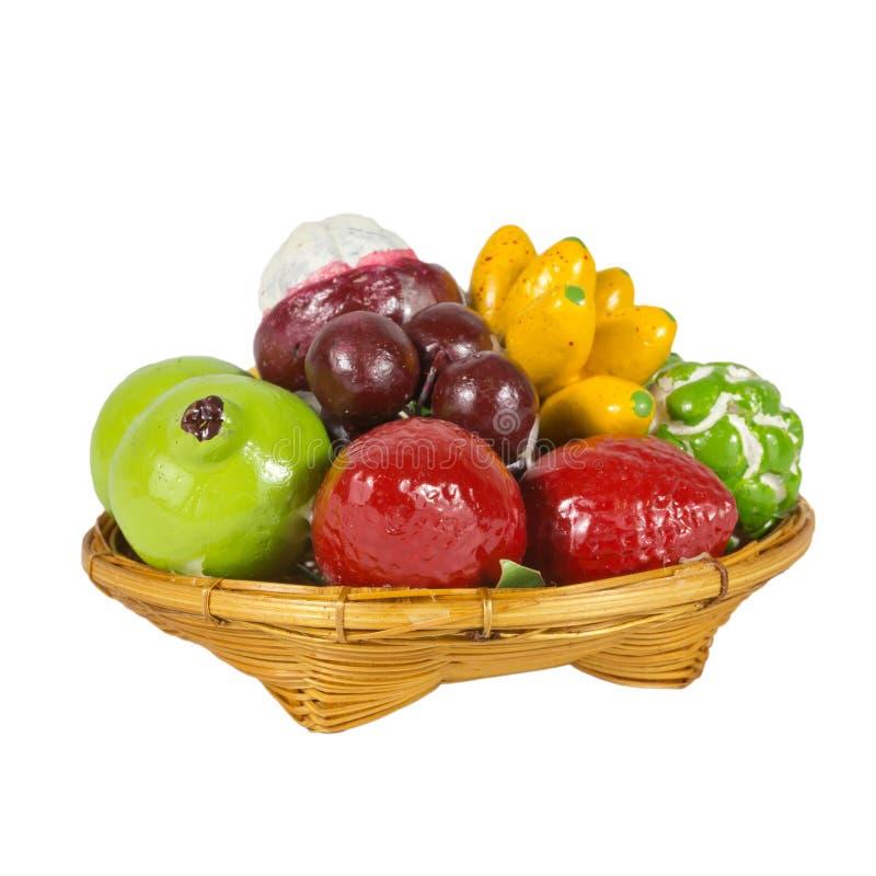 Φρούτα μιγμάτων παιχνιδιών στοκ εικόνα με δικαίωμα ελεύθερης χρήσης
