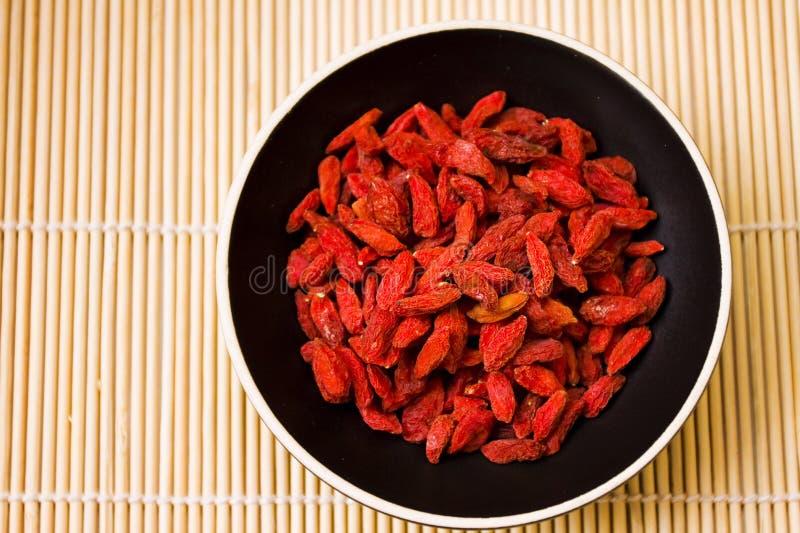 Φρούτα μούρων Goji στοκ φωτογραφία με δικαίωμα ελεύθερης χρήσης