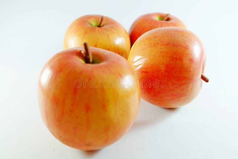 Φρούτα της Apple, τεχνητά φρούτα - είναι πλαστά φρούτα 10 στοκ φωτογραφία με δικαίωμα ελεύθερης χρήσης