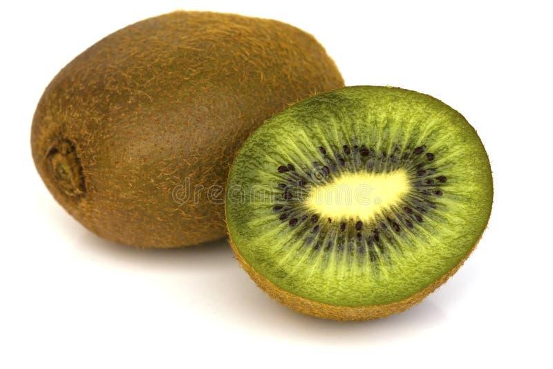 Φρούτα Kivi που απομονώνονται στο άσπρο υπόβαθρο στοκ φωτογραφίες