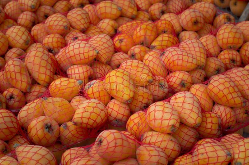 Φρούτα Marula στην αγορά Τοπ όψη Κινηματογράφηση σε πρώτο πλάνο στοκ εικόνες