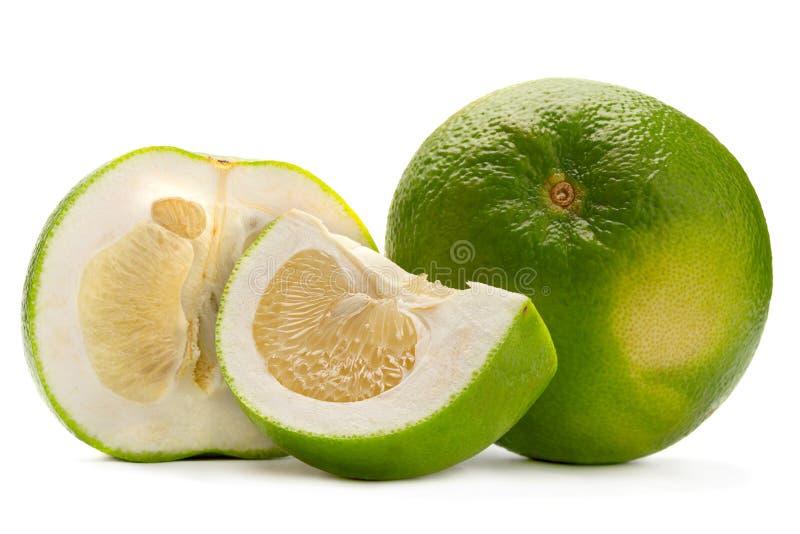 Φρούτα Sweetie στο λευκό στοκ εικόνα