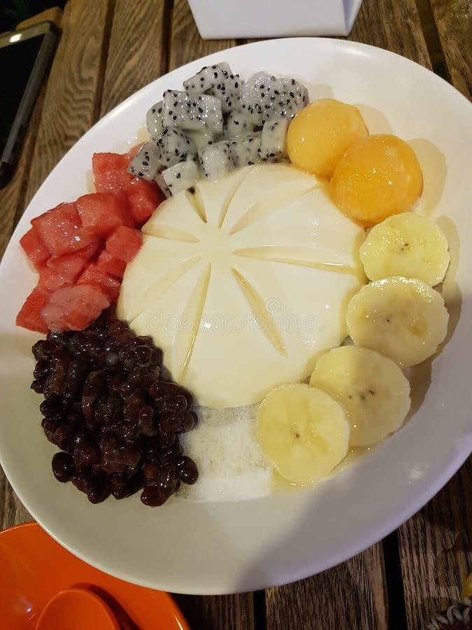 Φρούτα Tufu yummy στοκ φωτογραφία