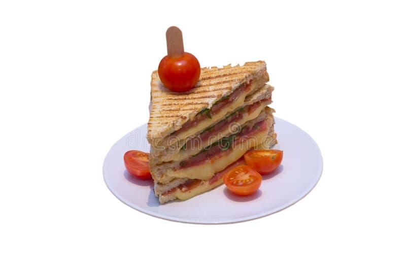 φρυγανιά σάντουιτς στοκ φωτογραφίες με δικαίωμα ελεύθερης χρήσης
