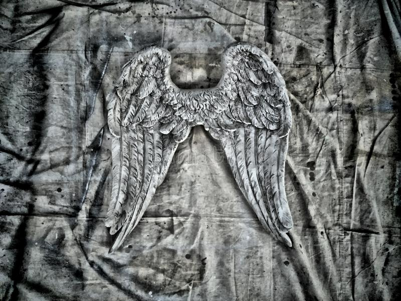 Φτερά αγγέλου στοκ φωτογραφίες
