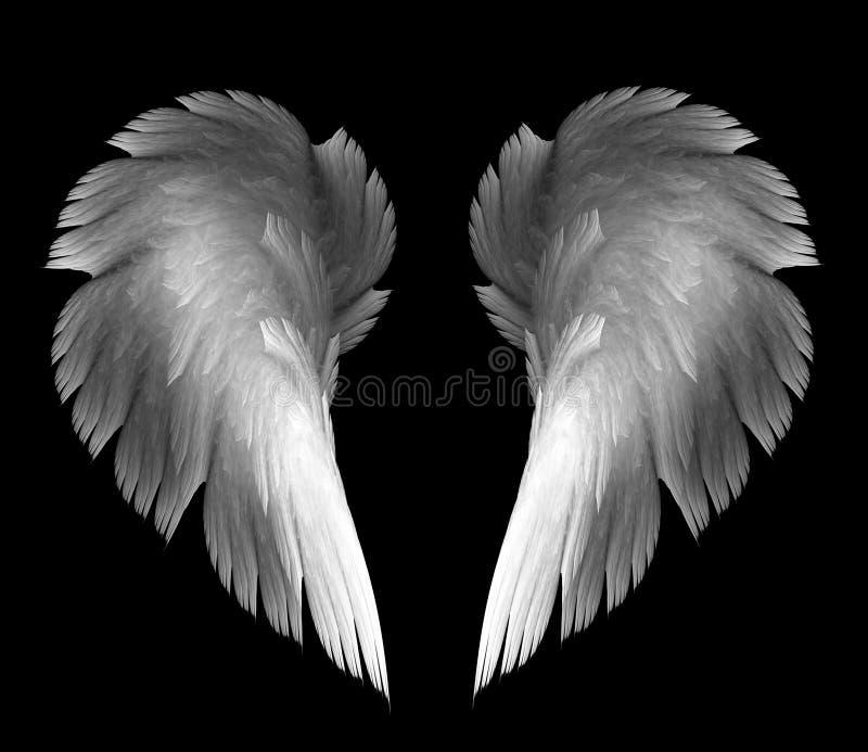 φτερά αγγέλου ελεύθερη απεικόνιση δικαιώματος