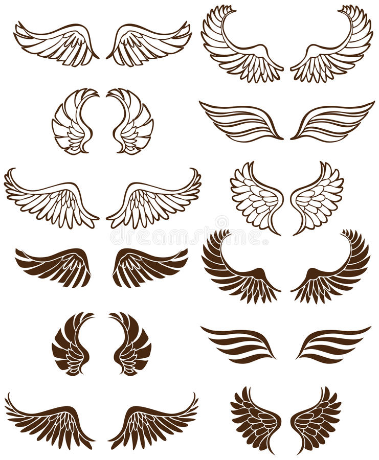 φτερά αγγέλου απεικόνιση αποθεμάτων