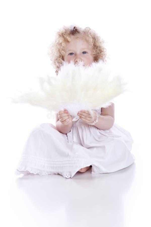 φτερά ανεμιστήρων μωρών στοκ φωτογραφίες