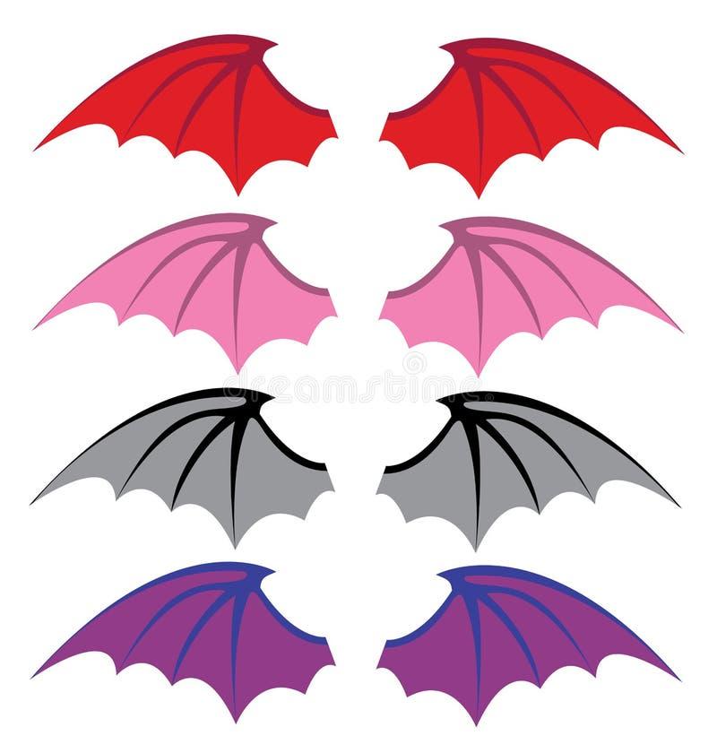 Φτερά διαβόλων απεικόνιση αποθεμάτων