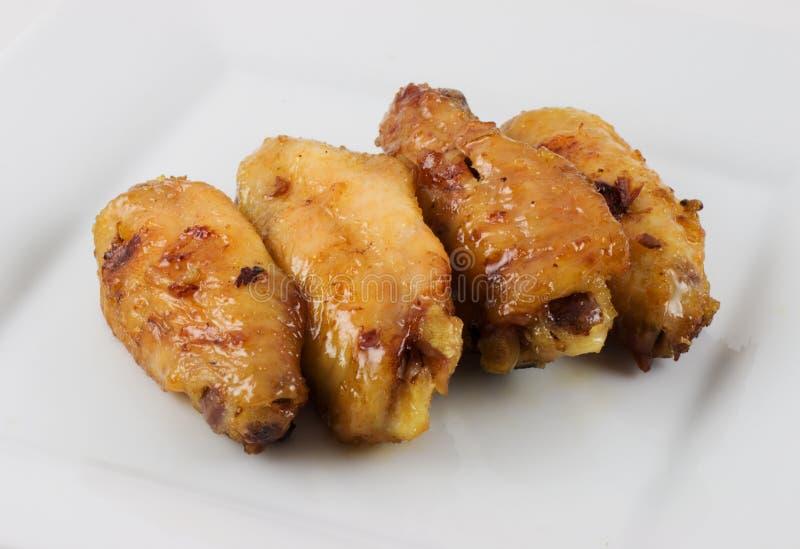 φτερά κοτόπουλου στοκ εικόνα με δικαίωμα ελεύθερης χρήσης