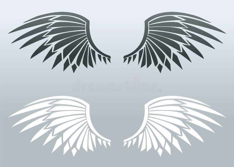 φτερά λεπίδων ελεύθερη απεικόνιση δικαιώματος