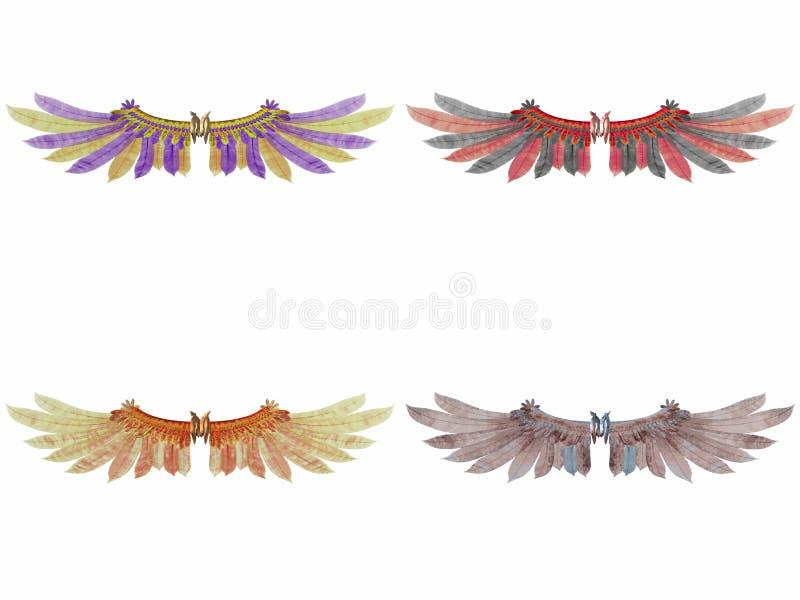 φτερά φαντασίας απεικόνιση αποθεμάτων