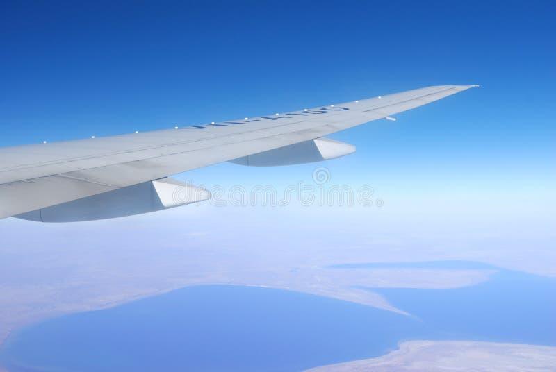 φτερό αεροπλάνων στοκ φωτογραφίες