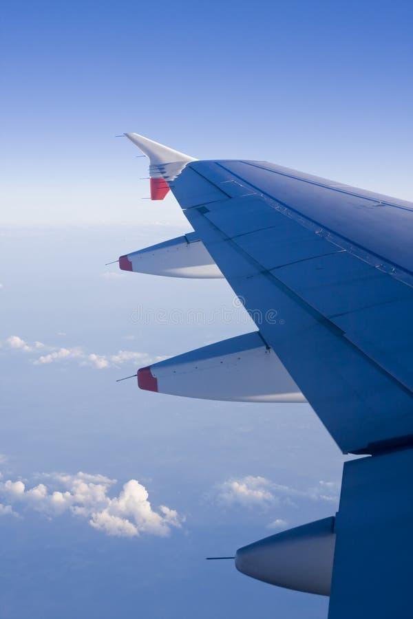 φτερό αεροσκαφών στοκ φωτογραφίες με δικαίωμα ελεύθερης χρήσης