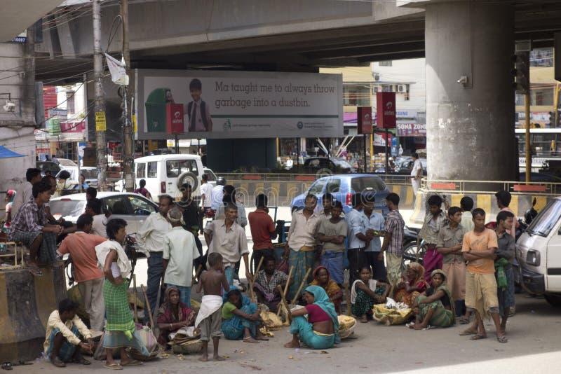 Φτωχοί και ένδεια στοκ εικόνα με δικαίωμα ελεύθερης χρήσης