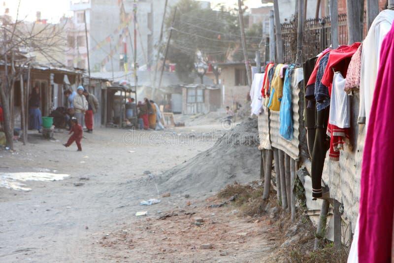 φτωχοί κατοικίας περιοχή στοκ φωτογραφίες με δικαίωμα ελεύθερης χρήσης