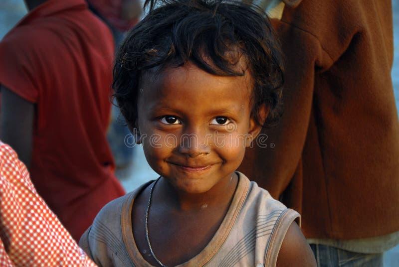 φτωχοί παιδιών στοκ φωτογραφία