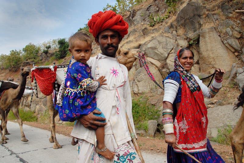 φυλές της Ινδίας banjara στοκ φωτογραφία
